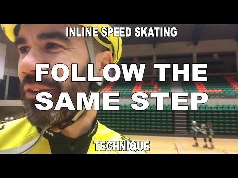 Inline skating follow the same step (Pascal Briand Vlog 01)