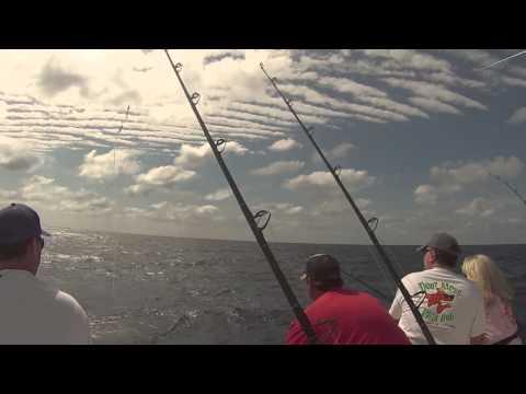 Offshore fishing on Reel Busy Fishing Charters, Stuart FL