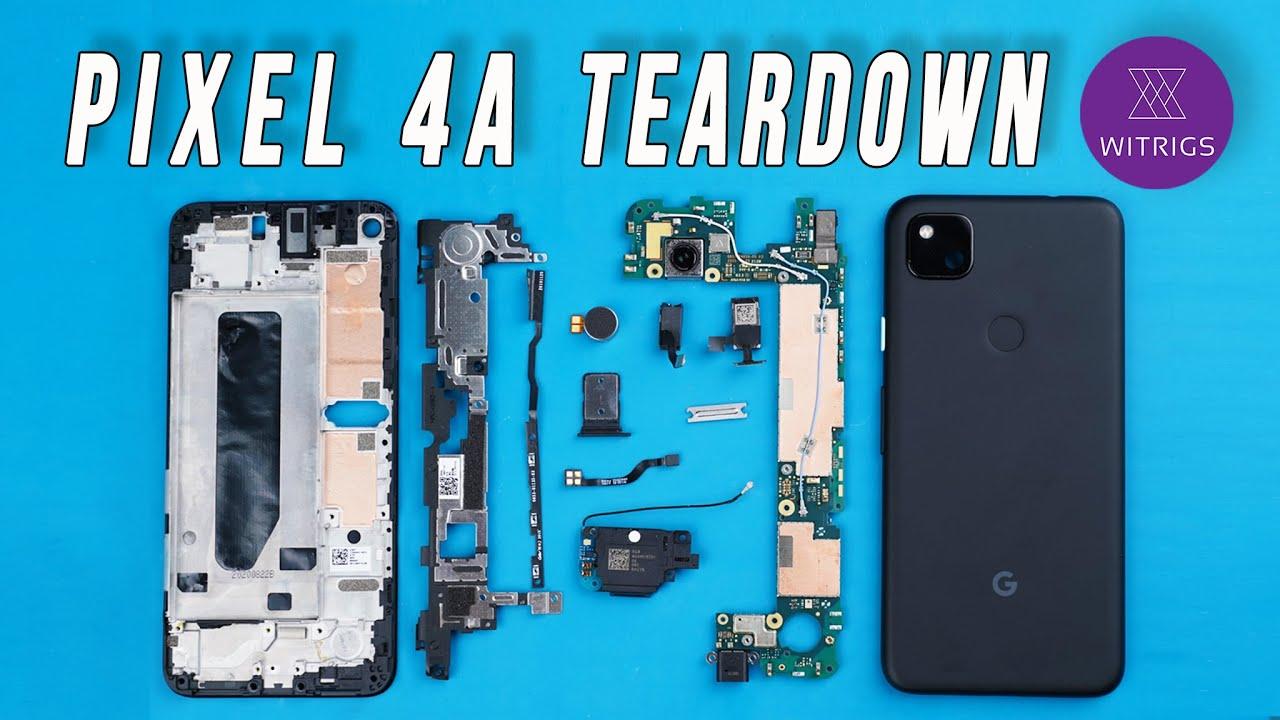 Google Pixel 4A Teardown
