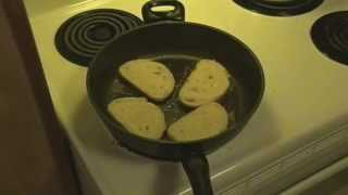 Let's Cook Garlic Bread (fried)