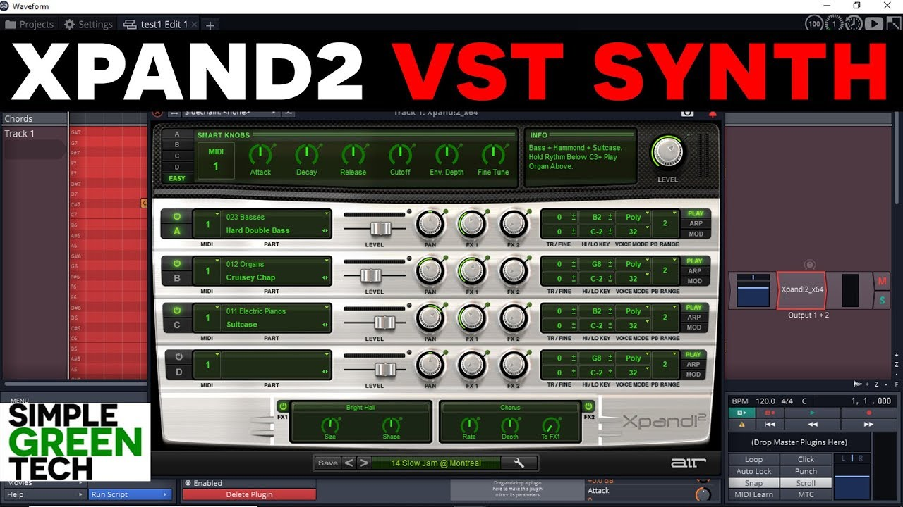 Air Music Technology Xpand 2 VST Plugin Synth Review