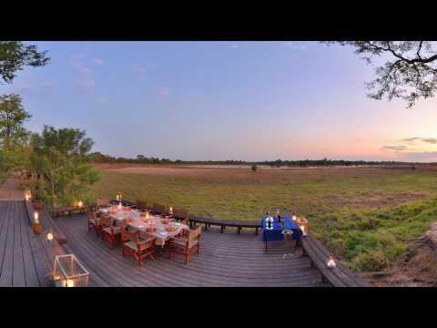 360 VR 4K Video of Zungulila Bushcamp, Zambia