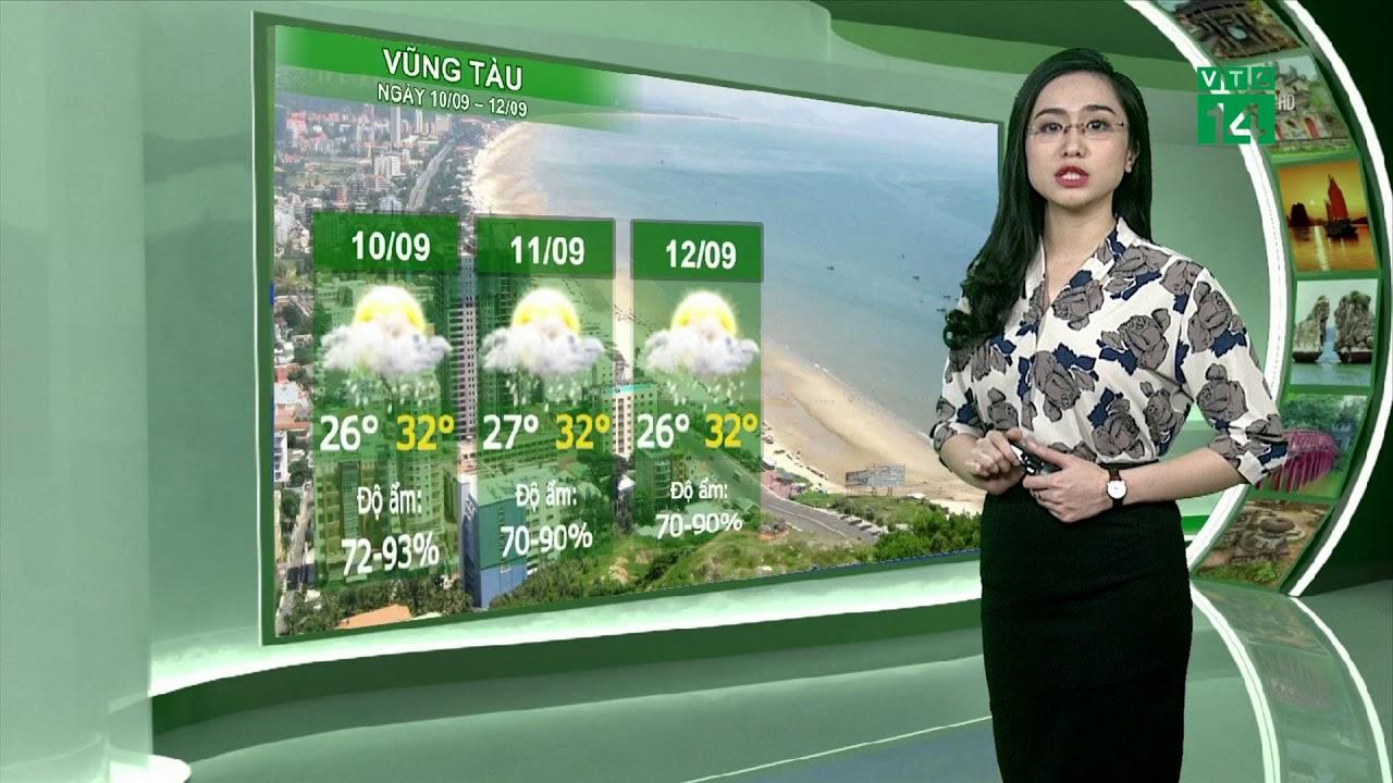 Thời tiết du lịch 09/09/2018: Nghệ An đến bắc Quảng Bình tiếp tục có mưa to đến rất to | VTC14