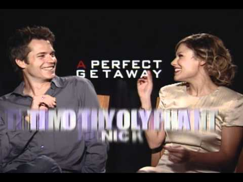 A Perfect Getaway - Interviews with Steve Zahn and Timothy Olyphant and Milla Jovovich