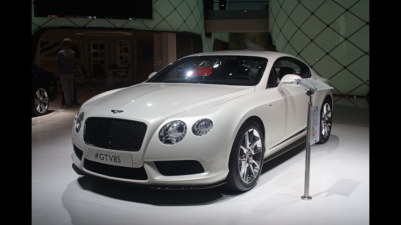 NEW 2014 Bentley Continental GT V8 S - IAA Frankfurt 2013 (1080p ...