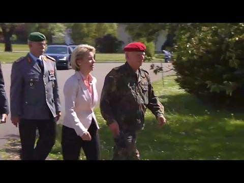 Fall Franco A.: Ursula von der Leyen will Kasernen umbenennen