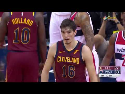 Cedi Osman'ın Washington Wizards'a karşı performansı - 6 PTS 5 REB 6 AST (Wizards 102 - 94 CAVS)