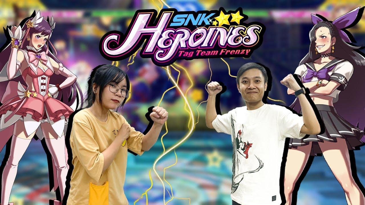 Chơi game đánh nhau 2 người SNK Heroines Tag Team Frenzy trên Nintendo Switch cùng nShop