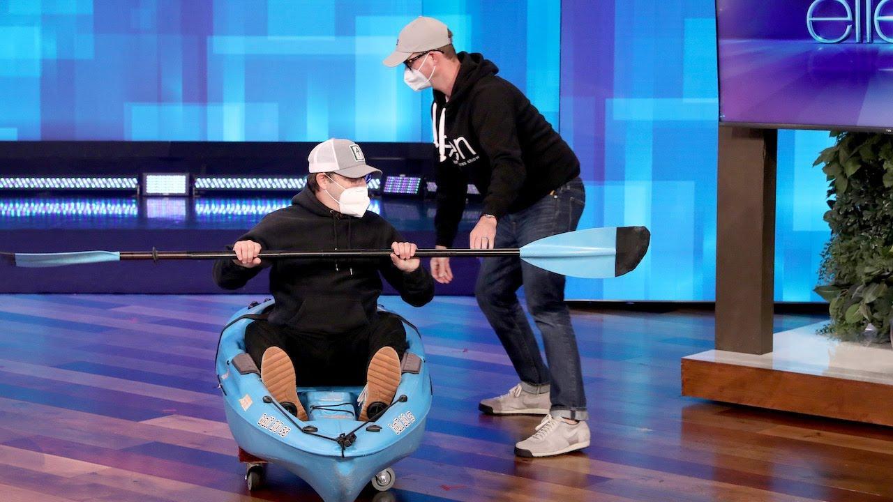 Andy Puts Ellen Underwear to a Stress Test