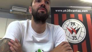 Interview with PK-35 striker Pablo Couñago
