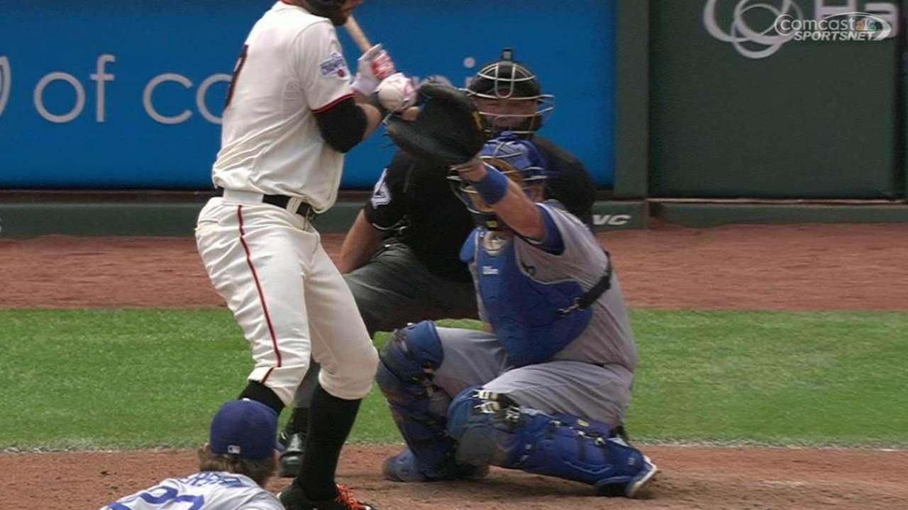 Giants call up Sandoval; Belt to DL, Kontos gone