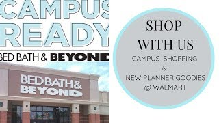 Dorm Room ~ Shop with Us @ Bed, Bath & Beyond and WalMart Planner   Back To School