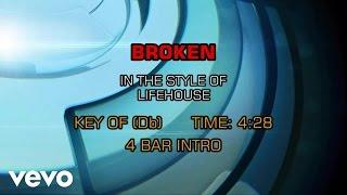 Lifehouse - Broken (Karaoke)