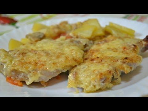 Рецепт Ну, оОчень вкусное - Мясо по-французски