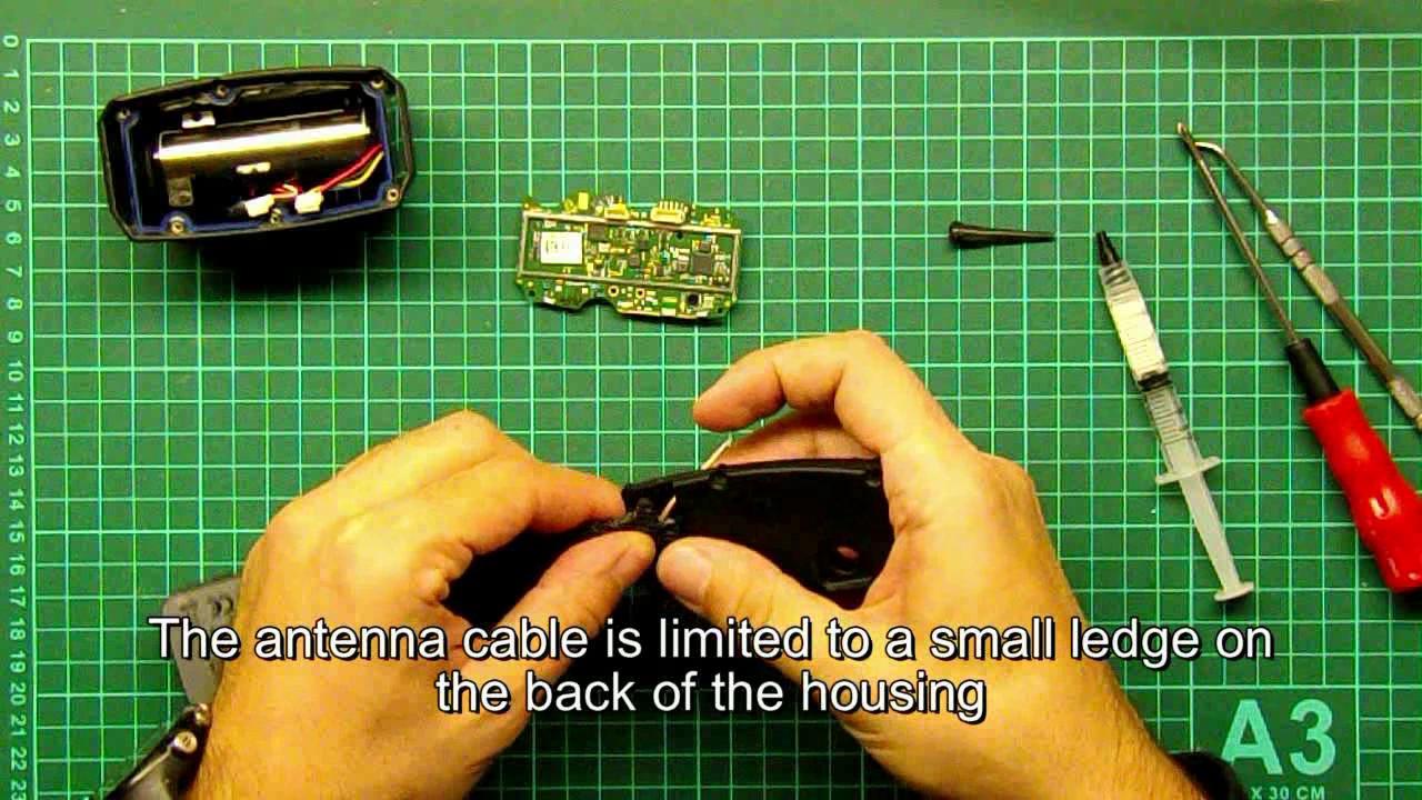 hight resolution of repair the gps dog collar garmin t5 replace gps antenna t 5 tt 15 tt 10