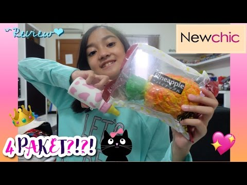 4 PAKET?!?! Review Package from Newchic.com (Indonesia) | Friendship DIY