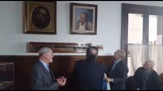 Partido Nacional presentó nuevo cuadro de Wilson Ferreira Aldunate en Sala de Directorio