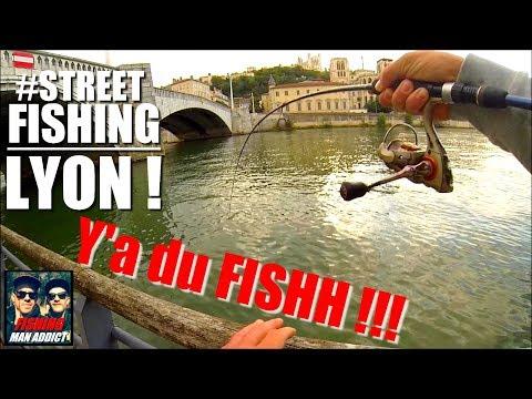 #Street-Fishing à LYON ! Quais de Saône.. Y'A DU FISHH !!