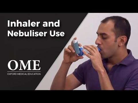 Asthma: Nebuliser And Inhaler Use - Respiratory Medicine