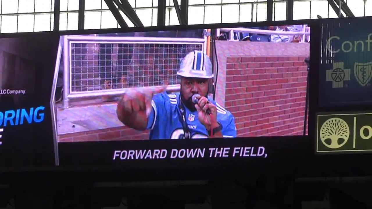 Gridiron Heroes -Detroit Lions Touchdown celebration song at Ford Field- -  YouTube