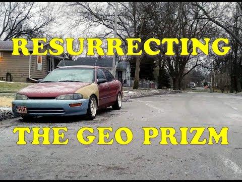 Resurrecting A 97 Geo Prizm