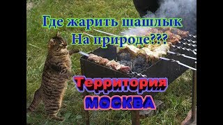 14 мест где можно пожарить шашлыки на природе в Москве?