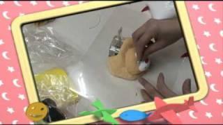 黏土教學-哈比特黏土-蘇老師小婦人工作室示範-老鼠逗貓