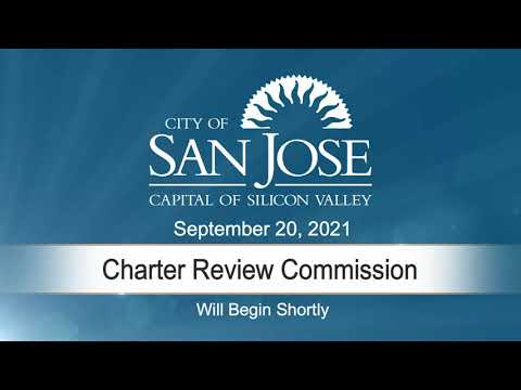 SEP 20, 2021 | Charter Review Commission