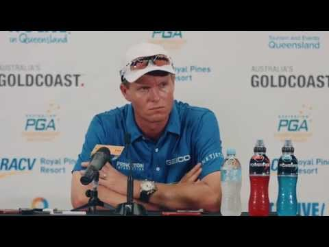 John Senden with PGA TOUR title under his belt - Aust. PGA Championship 2014