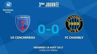 Concarneau vs Chambly full match