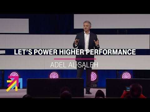Social Media Post: Adel Al-Saleh | Digital X, 30.10.2019 (Let´s power higher performance)