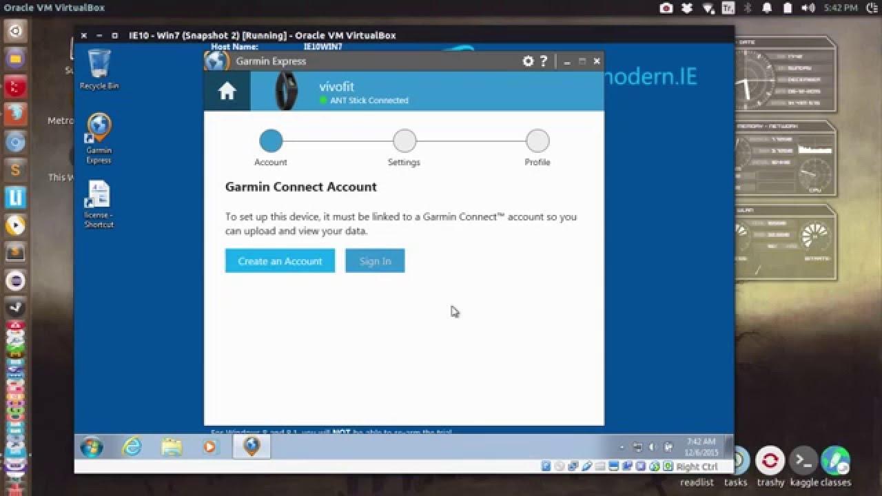 How to Run Garmin Express under Ubuntu