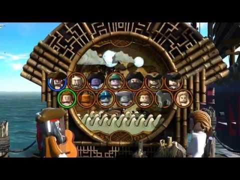 Lego Pitares of The Caribbean  Norrington's Choice Free Play All Secret