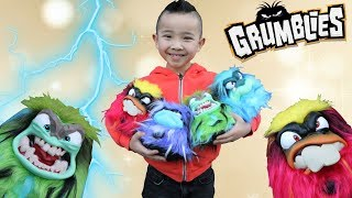 GRUMBLIES!! Poke Shake  Flip For A Mega -Meltdown With Ckn Toys
