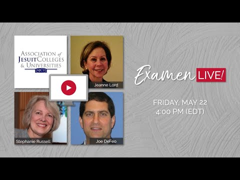 examen-live!-with-the-association-of-jesuit-colleges-and-universities
