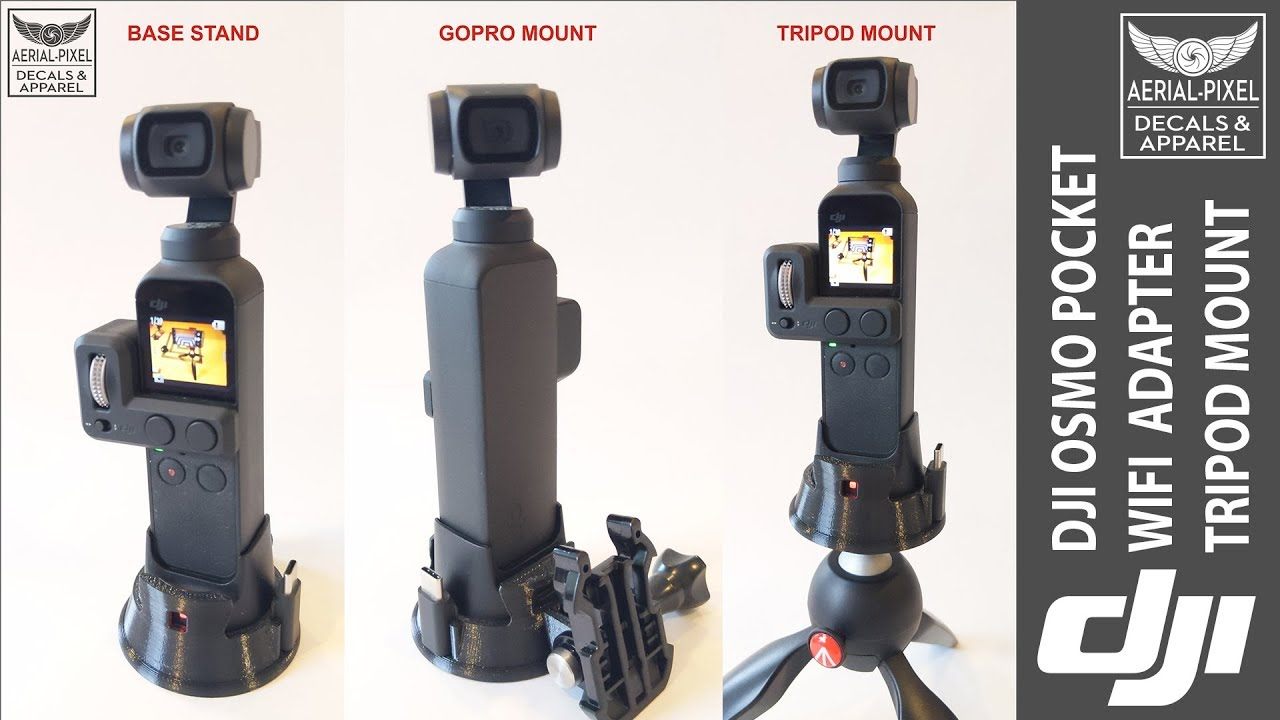 for WiFi Base Accessory Aerial-Pixel WiFi Tripod Adapter for DJI Osmo Pocket