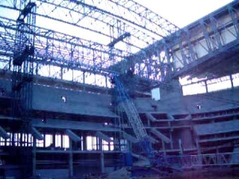 Reliant Stadium under construction - 4/02