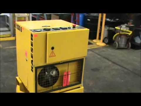 Kaeser SX6 Rotary Screw Drive Air Compressor ACP2034