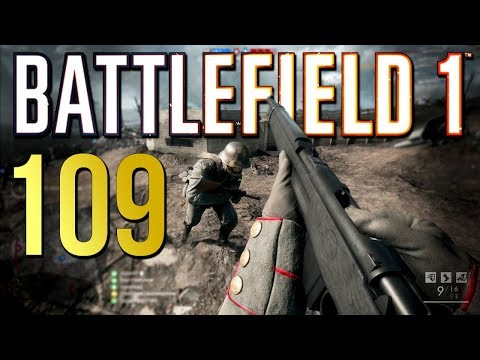 Battlefield 1: 109 Kills on Ops - PS4 PRO Multiplayer Gameplay