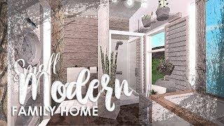 Small Modern Family House | Bloxburg