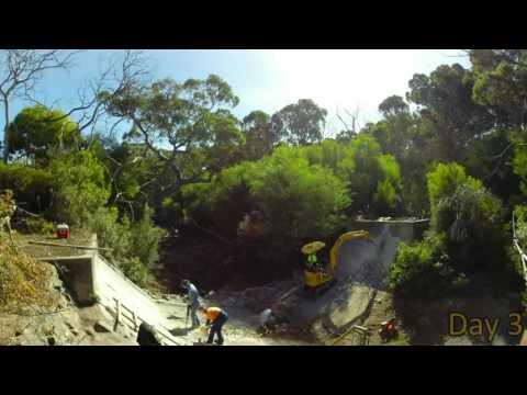 Rocky River Weir Construction