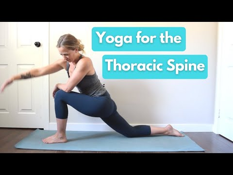 Yoga For Thoracic Spine (mini Class)