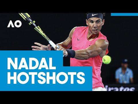 Rafael Nadal hotshots | AO2020