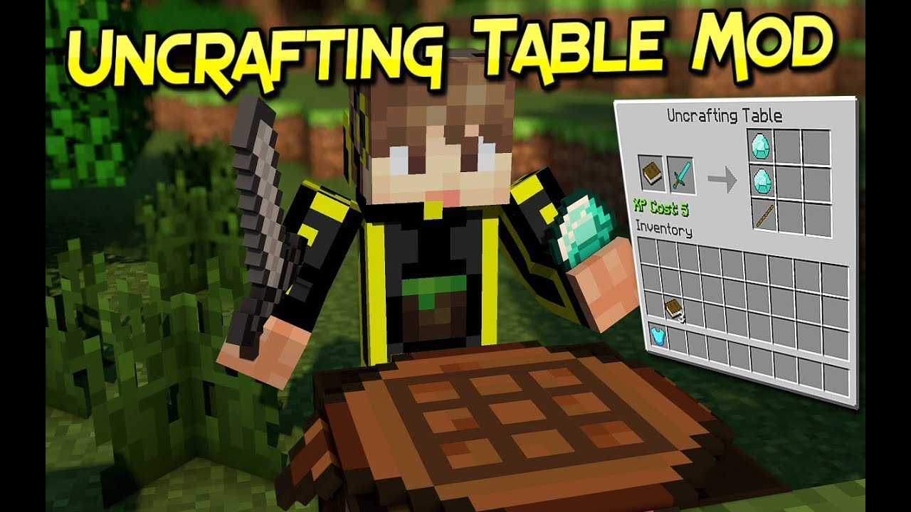 minecraft uncrafting table