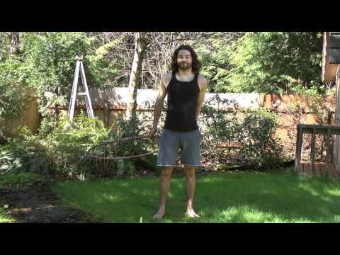 Beginner Hula Hoop Tricks Vol.2: Revolving Door Step Through How To