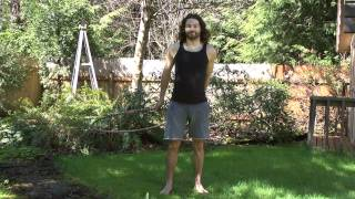 Beginner Hula Hoop Tricks Vol.2: Revolving Door Step Through How To