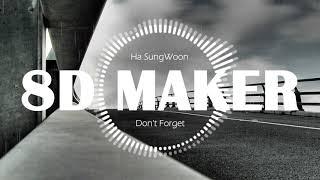 하성운 (Ha SungWoon) - 잊지마요 (Don't Forget) [8D TUNES / USE HEADPHONES] 🎧