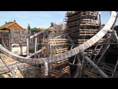 Phantasialand Baustelle: Klugheim mit TARON im Juni 2015