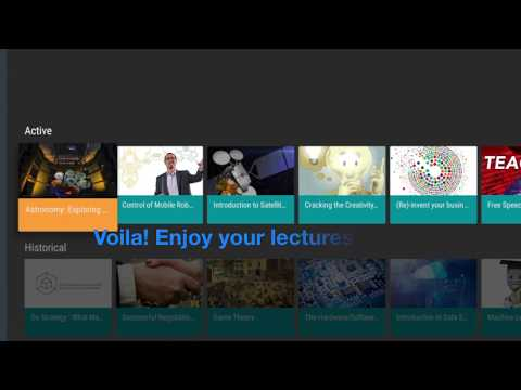 CourserATV – A Free Coursera Lectures Player 1