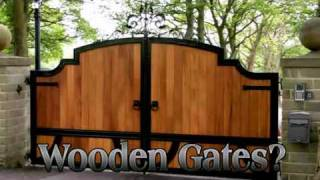 Gatesiron - Wooden Driveway Gates